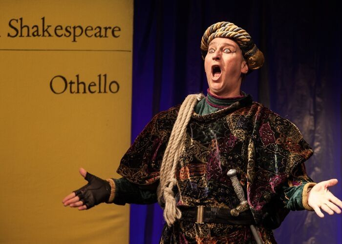 Kultur trifft Rückgrat Bernd Lafrenz spielt Othello