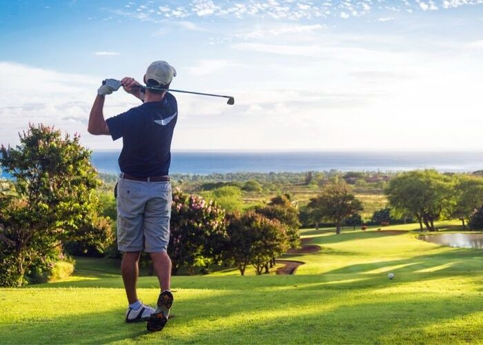 Rückgrat Aktivurlaub Golfen