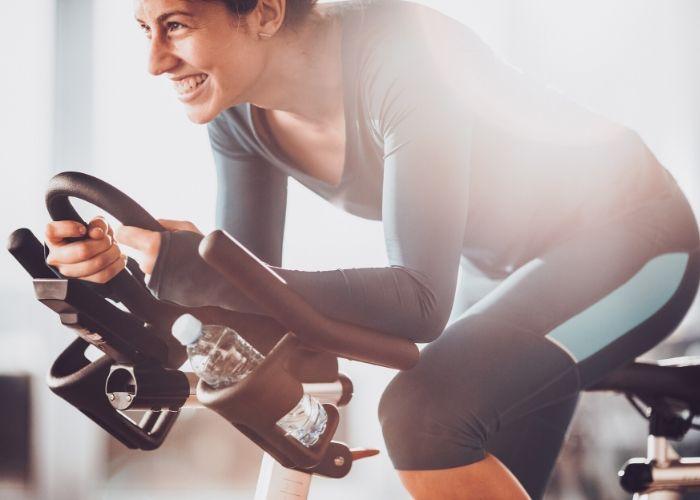 Cardiotraining auf dem Fahrrad