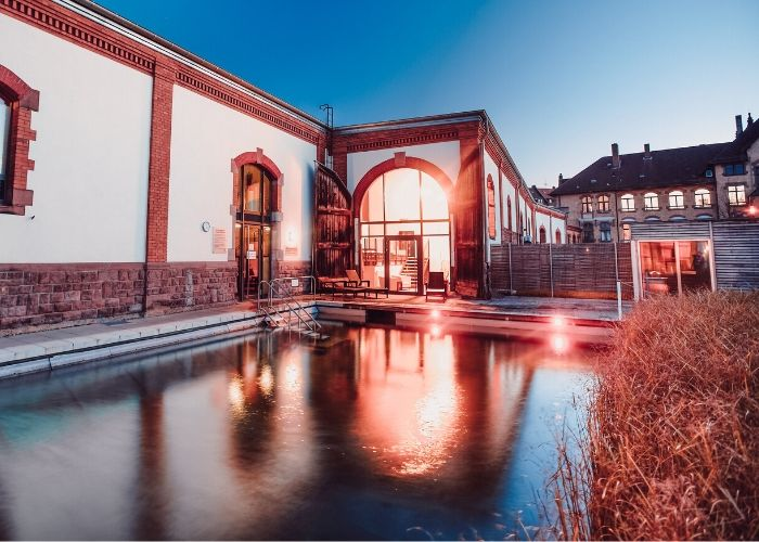 Saunatraum im Rückgrat Alter Zollhof