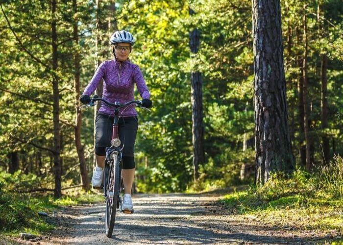 Rückgrat Aktivurlaub Radfahren