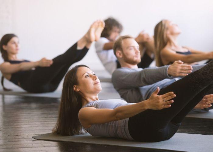 Pilates-Kurs Yoga und Pilates Center