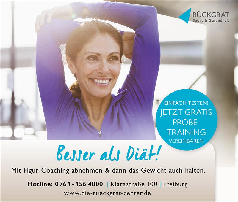 Fitnessstudio Rückgrat Stühlinger in Freiburg