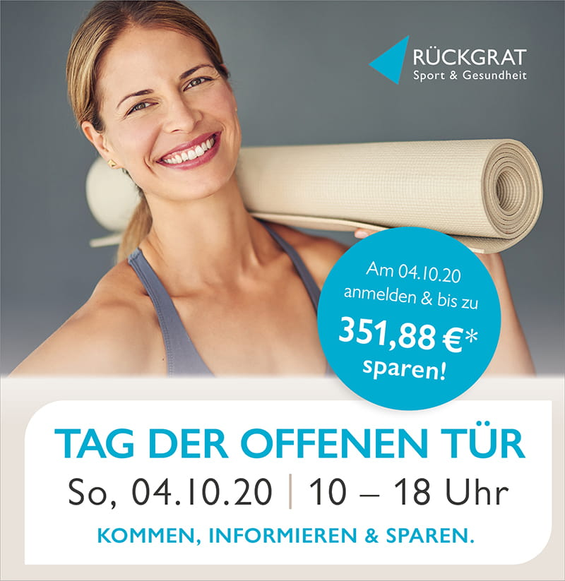 Tag der offnen Tür in den Fitnessstudios Rückgrat Freiburg