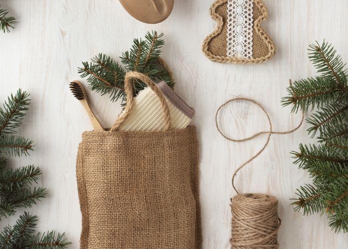 Nachhaltige Geschenkverpackungen Upcycling plastikfrei