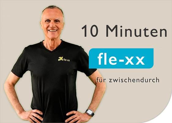 10 Minuten fle-xx Rückentraining für zwischendurch