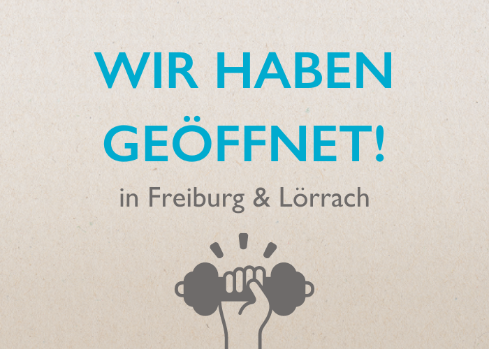 Rückgrat in Freiburg und Lörrach wieder geöffnet